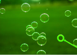 green-bubbles